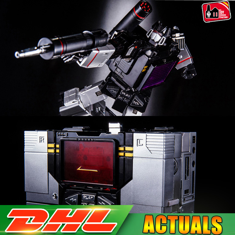 2018 Transformation G1 THF 01B Black One Tape Walkman MP13 Oversize Alloy KO Action Figure Robot Collection Robot Toys Gifts thf 51 thf 51s