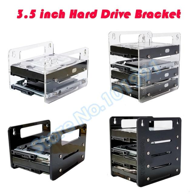"DEBROGLIE YJ Y2G/Y4G かけ型アクリルハードディスクブラケットハードディスクカートリッジ 3.5 ""HDD ケージ機械式ハードディスクボックス"