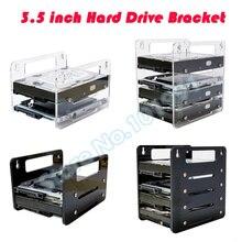 "DEBROGLIE  YJ Y2G/Y4G Hanging type Acrylic Hard Disk Bracket  Hard disk cartridge 3.5"" HDD Cage mechanical hard disk box"