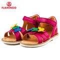 Flamingo famosa marca 2016 recién llegado de primavera y verano los niños sandalias de moda de alta calidad para las niñas 61-cs127/cs128/cs129/cs130