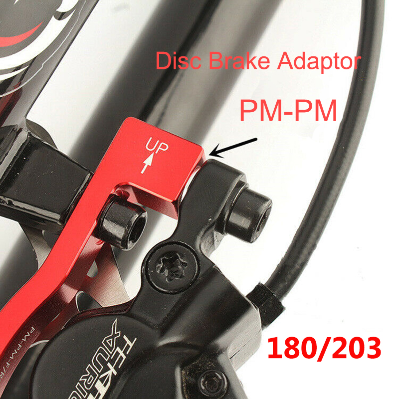 bike Hydraulic Disc Brakes Calipers Front Rear lever Rotor 160//180//203mm Black