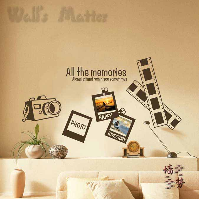 Free Shipping Home Decorators: Free Shipping Home Decor Wall Stickers Memory Photo Frame