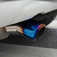 For Toyota Land Cruiser 200 LC200 LEXUS 570 LX570 Stainless Steel Tail Exhaust Muffler Tip Pipe Car Styling Accessories