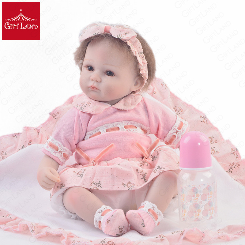 Reborn Baby Doll Bebe Reborn Princess Toddler Romantic Pink Soft Baby Doll For Your Dearest Girl Or Boy Little Accompany FriendsReborn Baby Doll Bebe Reborn Princess Toddler Romantic Pink Soft Baby Doll For Your Dearest Girl Or Boy Little Accompany Friends
