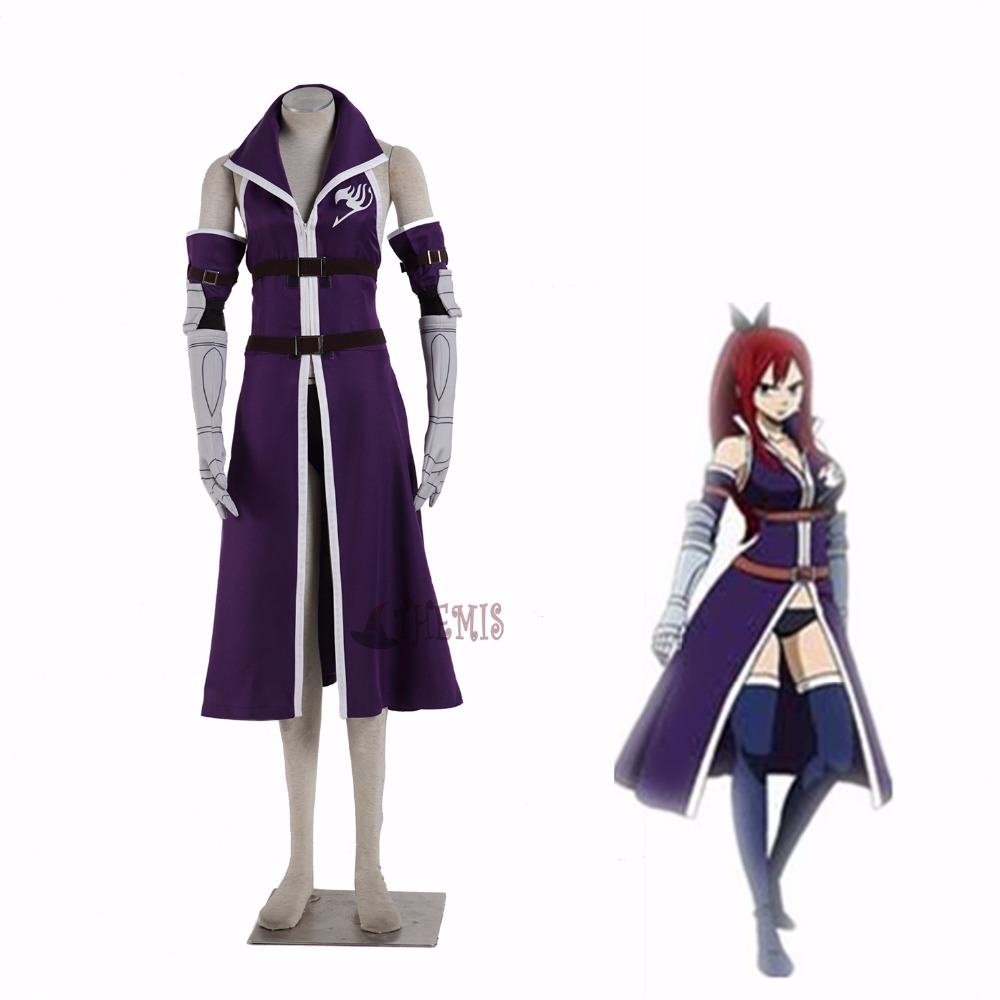 Athemis 2016 new FAIRY TAIL Elza Scarlet Cosplay costume custom made size
