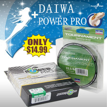 DAlWA+POWER PR0, 4/8 Braided Fishing Line – Length:150/135m, Diameter:0.1mm-0.4mm,size:13-88lb Tackle, pike, carp, perch. MK