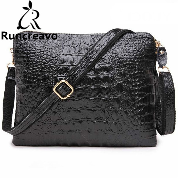 Crocodile Genuine Leather Bags For Women Crossbody Messenger Bags Shoulder Handbags Famous Luxury Brand Designer Bolsa Feminina genuine leather bag ladies crocodile pattern women messenger bags fashion handbags women famous brand designer bolsa feminina