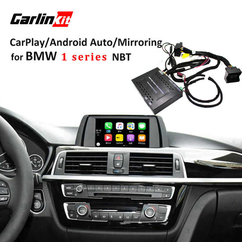 Carlinkt Reversing Camera Interface Module for BMW 1 Series With NBT System  6 5'' Screen With Carplay Mirroring