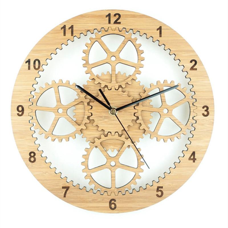 daily price clock saat wood wall reloj duvar saati relogio d
