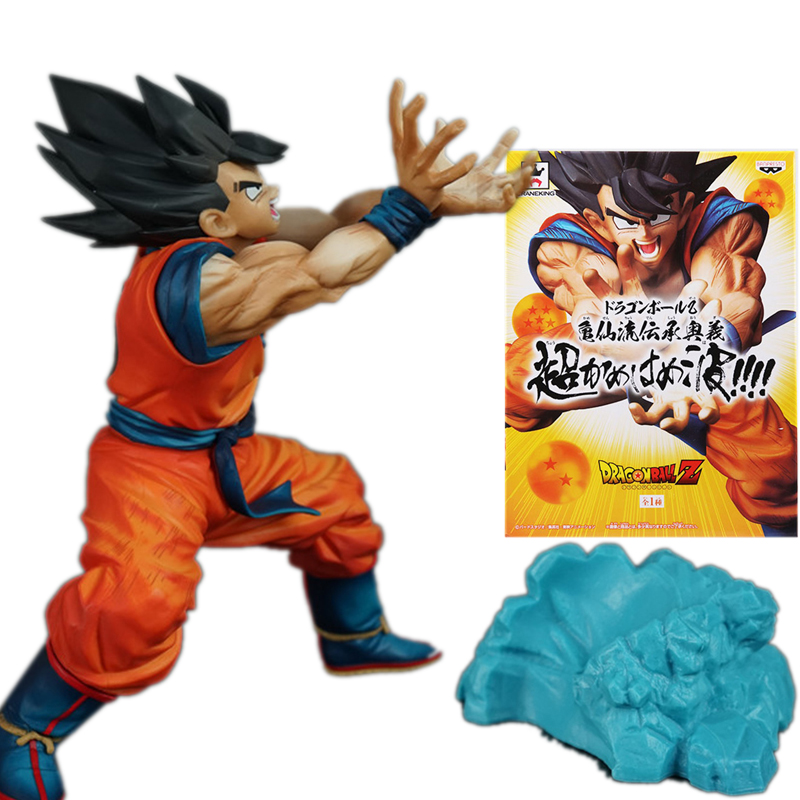 Toys & Hobbies Dragon Ball Z Son Goku Figures Shock Wave Super Saiyan Son Gokou Dragonball Pvc Action Figure Model Toy Brinquedos Delaying Senility