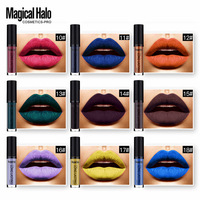 Magical Halo Lip Color Ultra Matte Liquid Lipstick Lipgloss Waterproof Moisture Long Lasting Lip Stick Lip