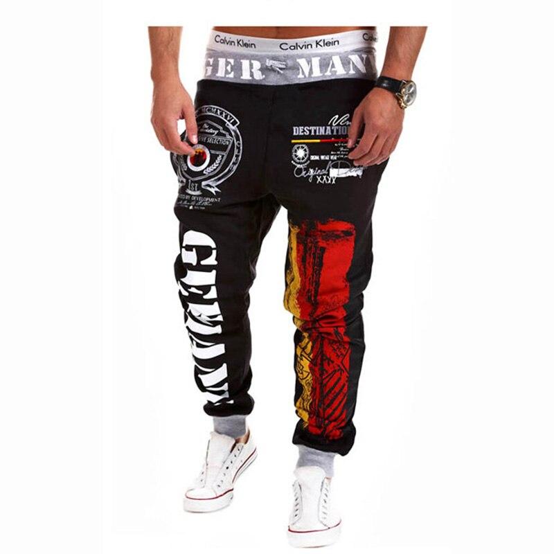 Autumn Spring Mens Joggers Fashion Printed Sweatpants Hip Hop Harem Pants Men Trousers Mens Sweat Pants Fashion Trouser