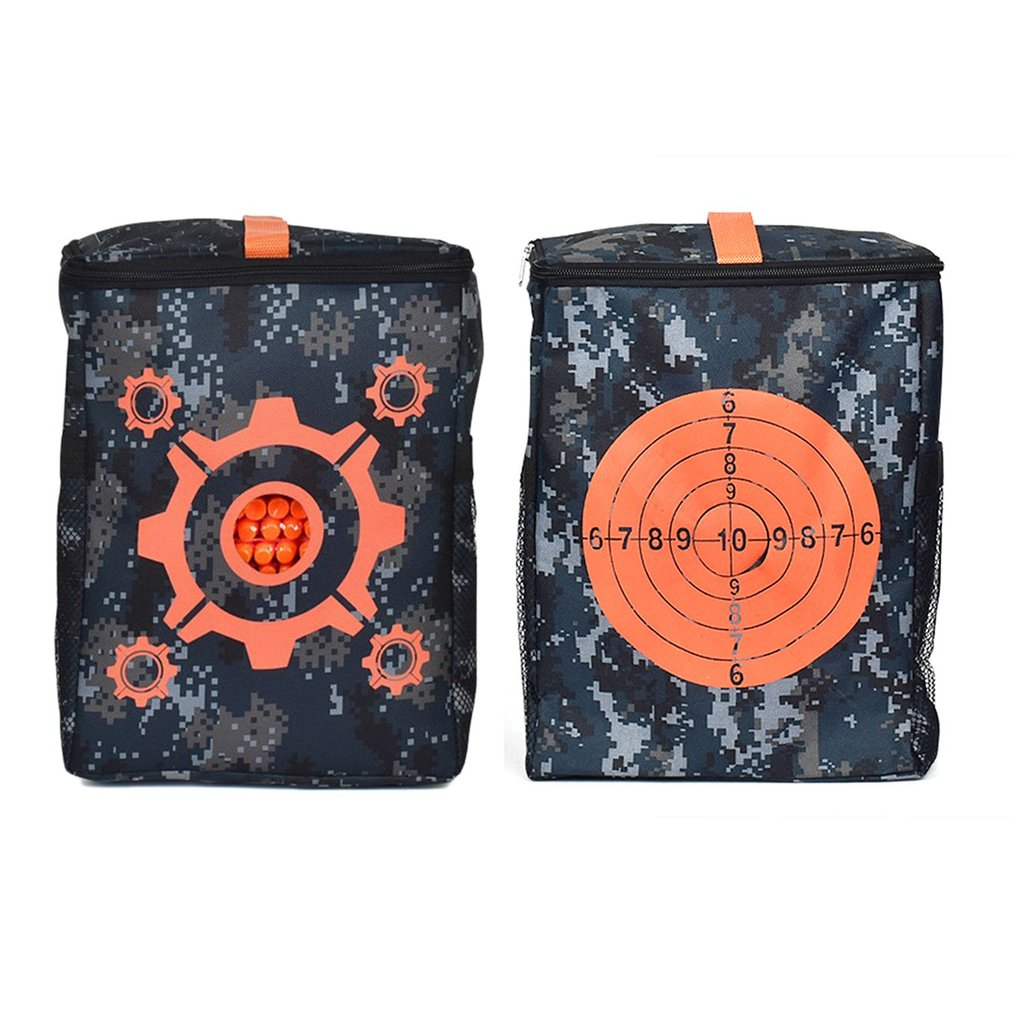 Bullet Target Pouch For Nerf Tactical Soft Bullets Storage Case Waterproof Oxford Cloth Carry Bag For Nerf Guns Bullet Equipment