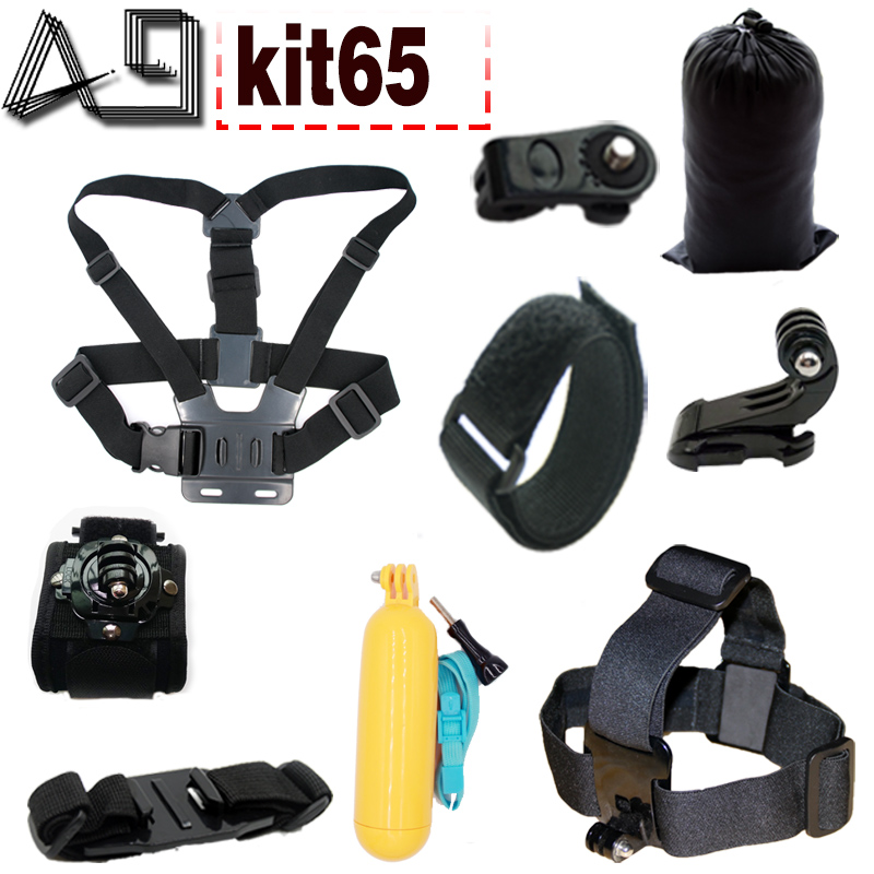 A9 For Gopro Accessories Set For Gopro 5 4 3 3 EKEN H9R F60R W9R Xiaomi