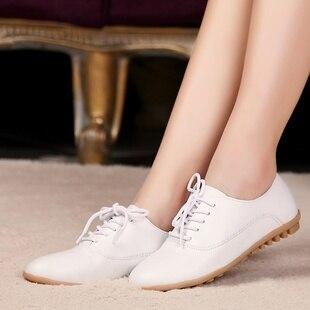 100% Geanuine leather Casual Flat Women Casual Shoe ladies shoes tenis feminino snickers sapatilhas femininos 2015