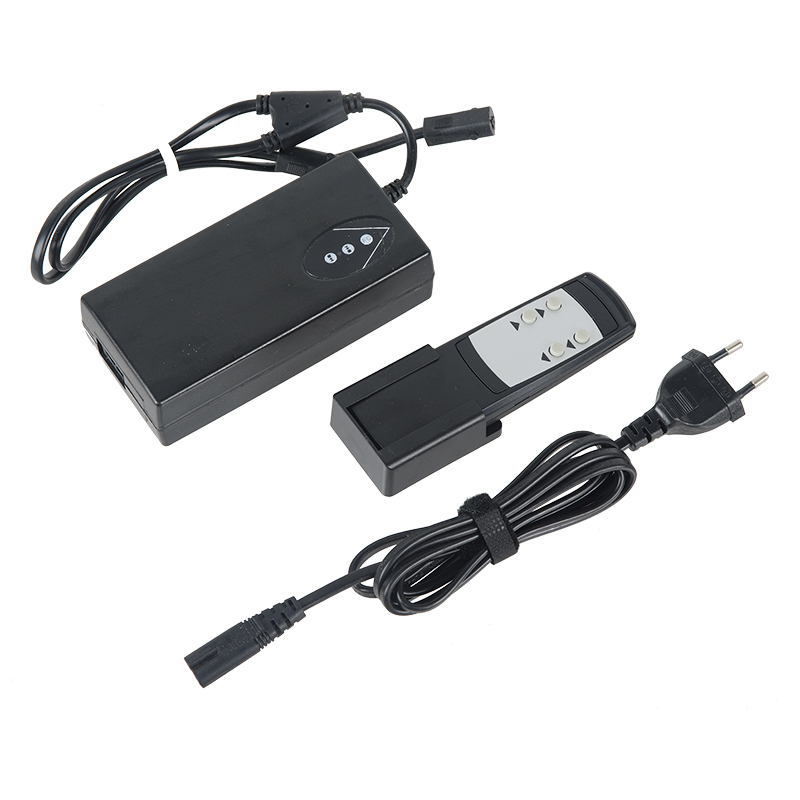 Remote <font><b>controller</b></font> box / Power Supply AC100-240V Input and <font><b>24V</b></font> DC Ouput Wireless Type for 2 mini linear actuators image