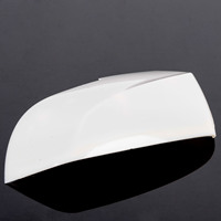 Mayitr 1pcs ABS White Car Left Side Mirror Cover For BMW F35 X1 F20 Car Wing