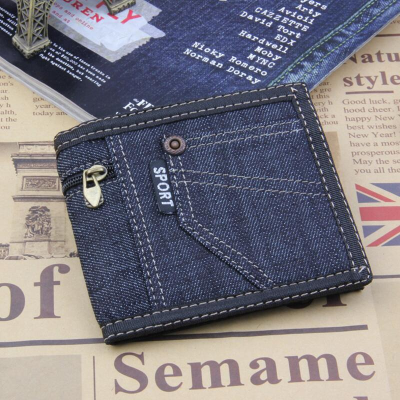 New brand casual wallet men pocket coin men purse Large capacity multi-card bit thin zipper wallets Fathers Day gift