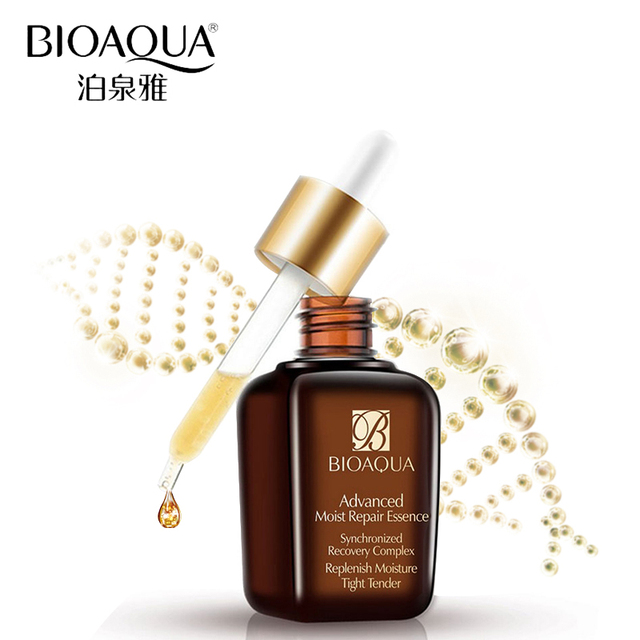 Bioaqua бренд Уход за кожей лица Уход за кожей Гиалуроновая кислота Жидкость Сыворотки против морщин Отбеливание Увлажняющий антивозрастной коллагена суть масла