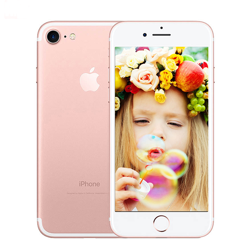 Unlocked Original Apple Iphone 7 32G/128G/256G Rom Quad Core Mobile Phone 12.0MP Camera IOS 1960ma Fingerprint Smart Phone Whole