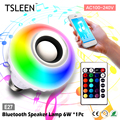 + + Barato Bluetooth Speaker Lâmpada RGB Lâmpada Colorida Lâmpada LED Bluetooth Speaker Inteligente Home/Estágio/Bares # TSLEEN