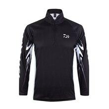 Daiwa рубашка, профессиональная рыболовная рубашка из бамбукового волокна Upf 50 +, дышащая, быстросохнущая, анти УФ, рыболовная одежда, 2020