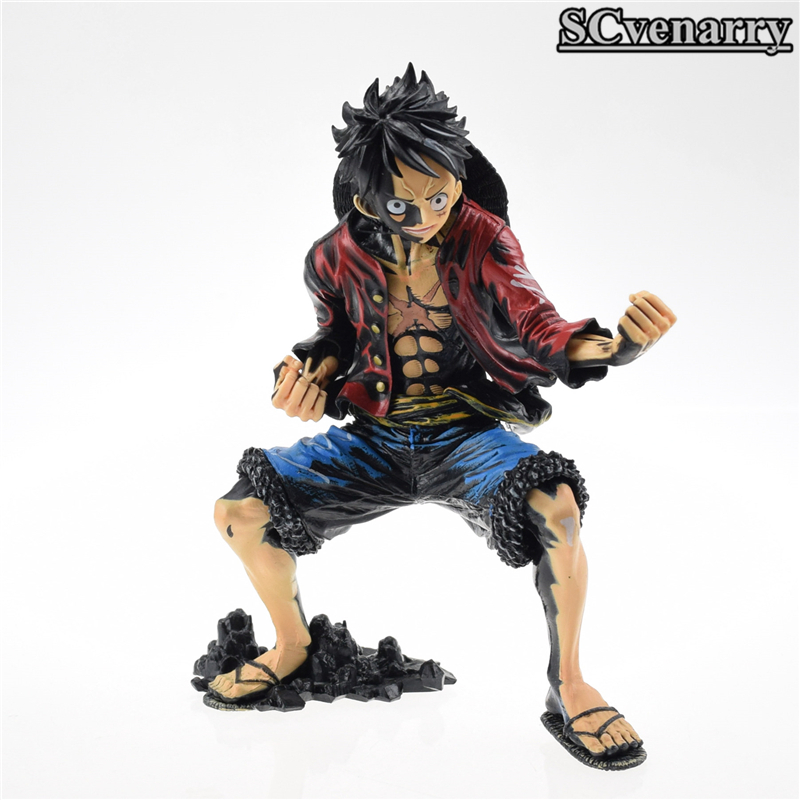 Toys & Hobbies Pvc Action Figure Collectible Model Toy 18cm Baby Toys Anime One Piece Luffy Figure King Of Artist The Monkey D Luffy Color Ver