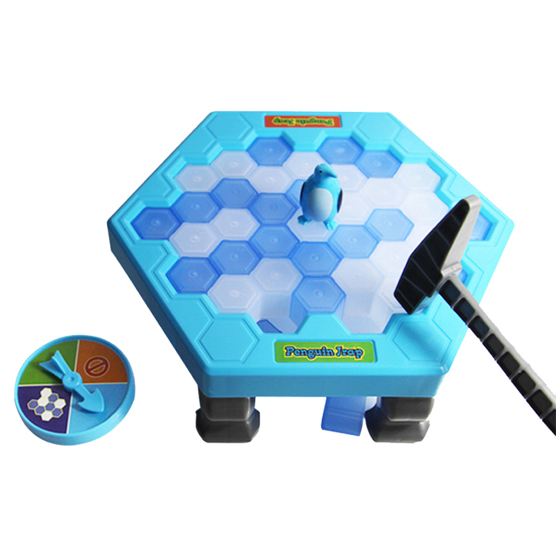 Funny Penguin Trap Interactive Indoor Board Game Ice Breaking Save The Penguin Parent-child Table Toys Kids Gifts ZC013*
