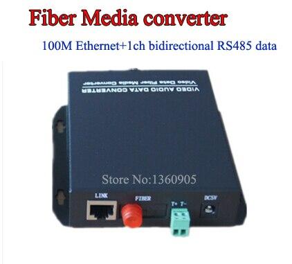 Gate Entrance Exit Surveillance Data Ethernet optical fiber media transmitter and receiver 1ch RJ45 10/100Mbps Ethernet media ethics issues and cases