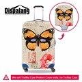 Новый стретч-камера защитная крышка бабочка печати путешествия чемодан крышка применить до 18 ~ 30 Дюймов мода путешествия аксессуары