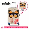 Novel stretch luggage protective cover butterfly print travel suitcase cover apply to 18~30 Inch case fashion travel accessories