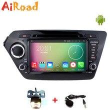 Quad Core Pure Android 4 4 1024 600 Capacitive Screen Car Stereo for KIA RIO K2