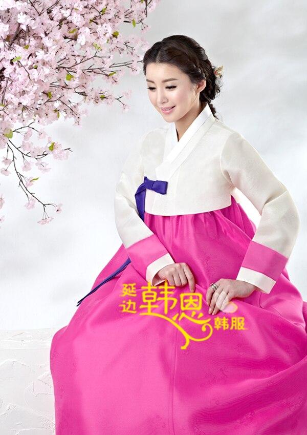 Lujoso Vestido De Boda Coreano Tradicional Motivo - Ideas de Vestido ...
