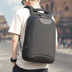 Никакой ключ Anti theft TSA замок моды Для мужчин 15,6 дюймов зарядка через usb ноутбук рюкзаки мужской Mochila 18L Colleg школьный рюкзак для мальчиков