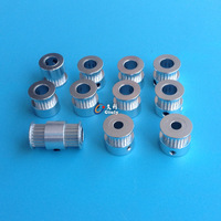 Ultimaker 2 Ir/2 Estendido Cronometragem pulley kit para DIY ultimaker impressora 3D HUM 2 IR Sincronismo Polia 5mm/8mm Eixo GT2
