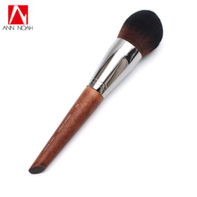 Professional Makeup Artist Long Wood Handle Straight Wavy Bristle 112 Medium Tapered Precision Foundation Brush