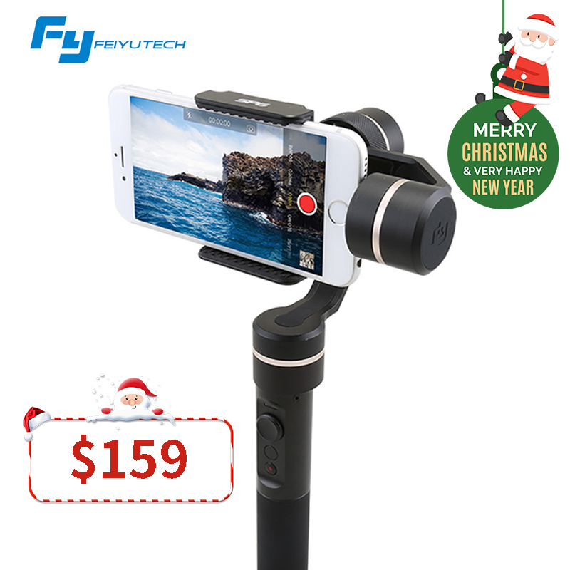 FeiyuTech FY SPG Handheld Splash Proof 3 axis Gimbal Stabilizer Gyro for iPhone Smartphone Gopro Action Camera Brushless Gimbal bestablecam h4 rtf brushless handheld encoder mirrorless digital camera gimbal gyro stabilizer for gh3 gh4 a7s nex5 bmpcc