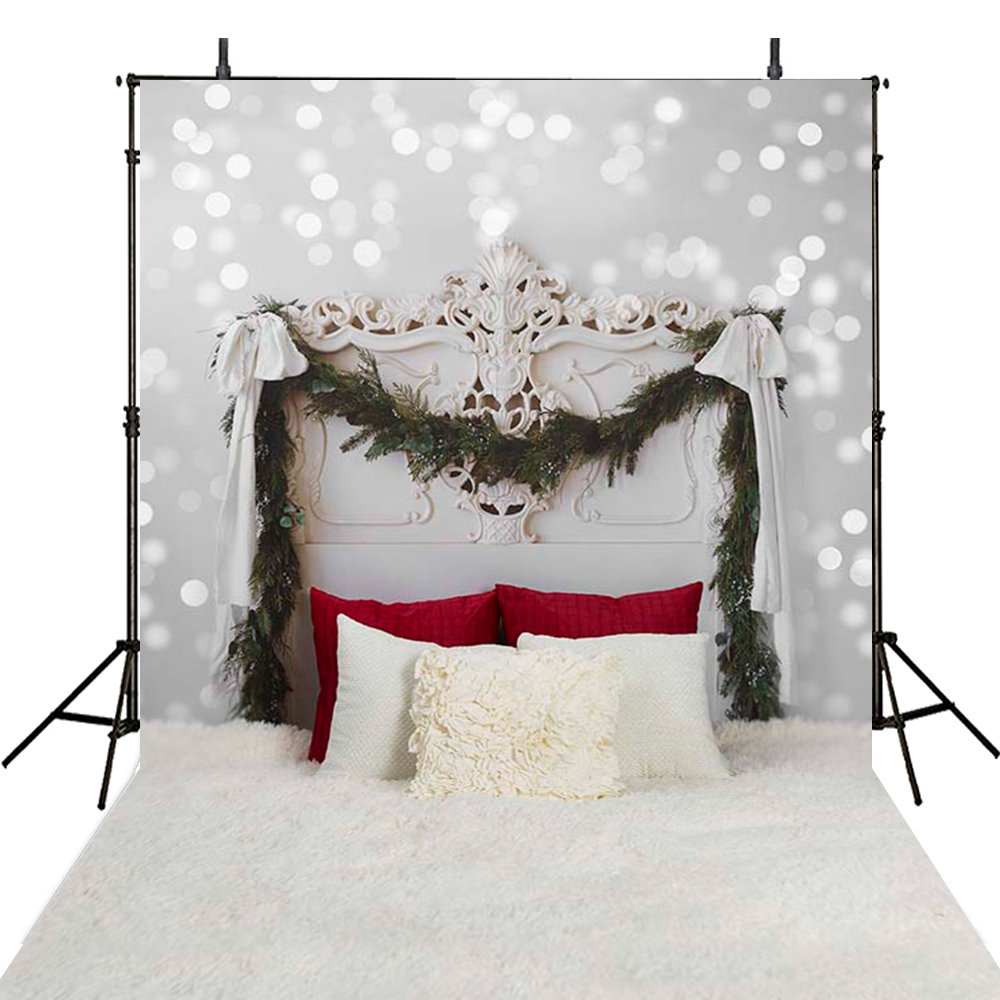 Hot Headoard Bed Photography Backdrops Baby Newborn Backdrop For Photography Party Background For Photo Studio Foto Achtergrond