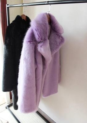 12 Fourrure Nouveau De En Femmes Style Fausse Mode S64 Manteau Haut Gamme rAOr1x