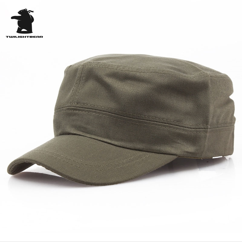 Designer Tactics Military Hats Fashion High Quality Cotton Adjustable Casual Army Cap For Men Women Peak Cap Service Cap AE40