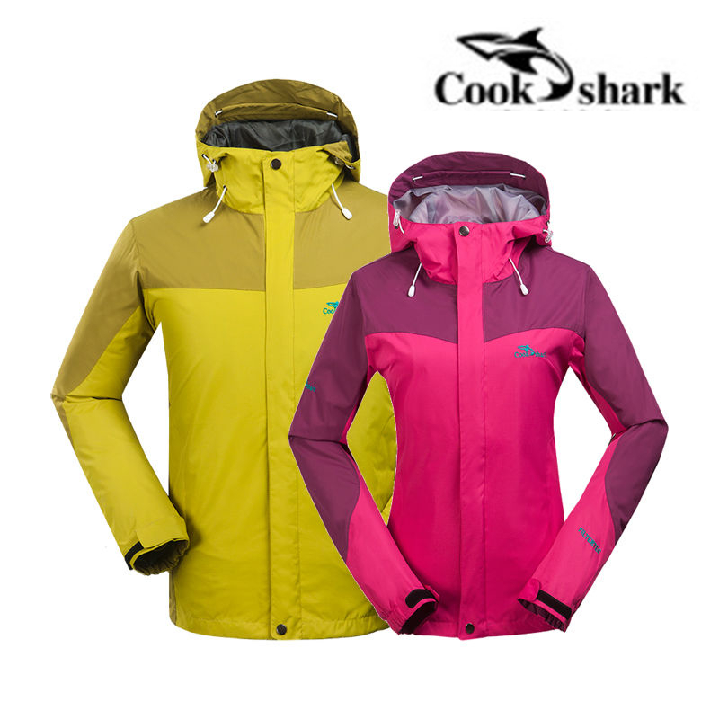 New 2016 Women Winter Jacket Hooded Men Waterproof Windproof Outdoor Hiking Skiing Coat Sportswear Jackets new arrived outdoor waterproof windproof jackets men mountain campling hiking fishing running sportswear tactical jackets