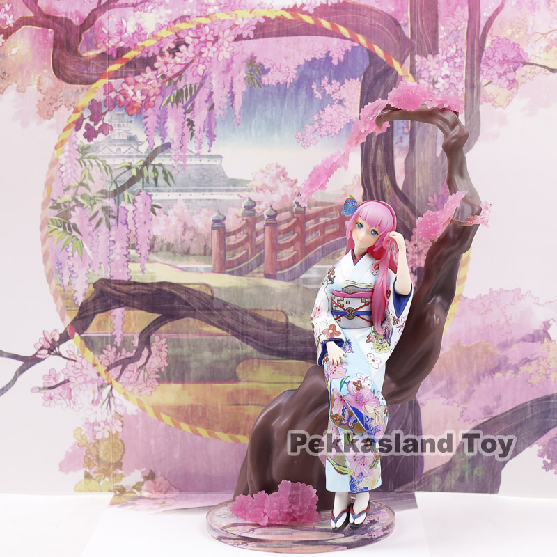 Hatsune Miku Luka Kimono Ver 1 8 Scale Painted Figure Collectible Model Toy