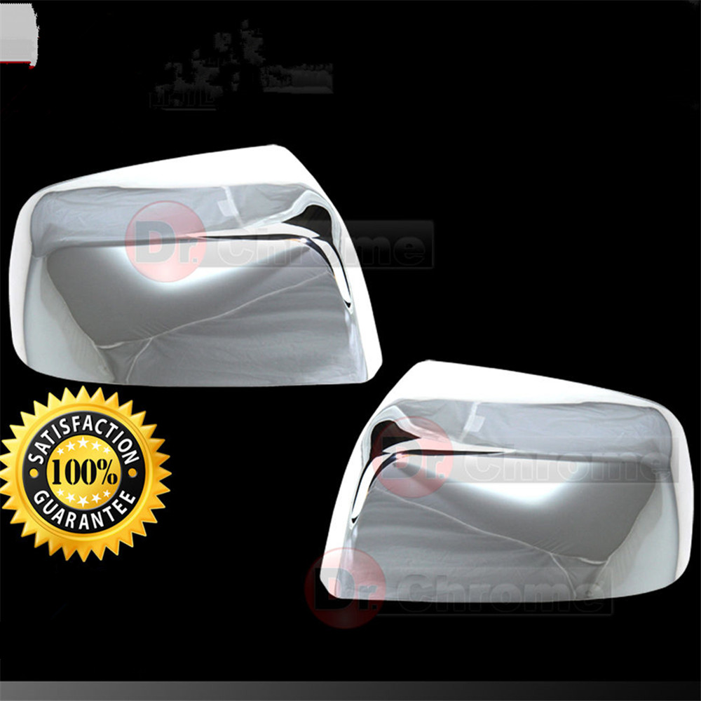 XYIVYG 15-16 for Chevy Chevrolet Colorado Triple Chrome plated Full Mirror Cover 1 Pair nitro triple chrome plated abs mirror 4 door handle cover combo