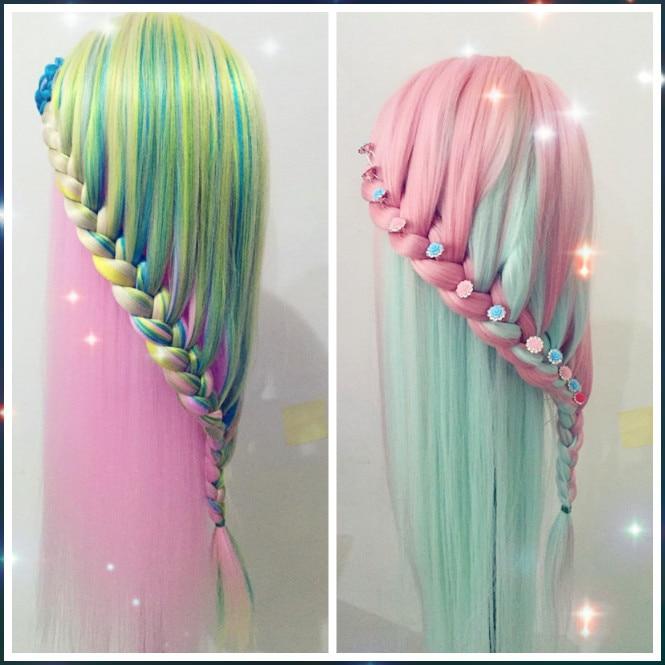 Multi Rainbow Color Hair High Heat End 12 18 2019 10 19 Pm