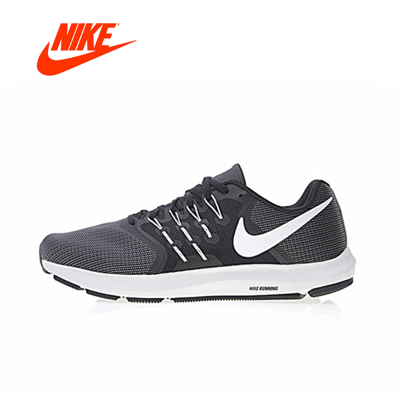 NIKE Authentic RUN FAST Men Running Shoes Classic shoes Breathable outdoor anti-slip New Arrival women white brogue stud shoes british style metal flats rivet fashion oxfords black designer spring autumn punk rock belts zip