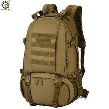 Waterproof Nylon Military Tactics Backpack 40L Large Capacity Men 15 Inch Laptop Rucksack Travel Hike Mochila Militar Tactica