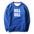 creative design printed KILL BILL street fashion Mens Cool Hoodies funny sweatshirt America styles HipHop rock fitness hoodies