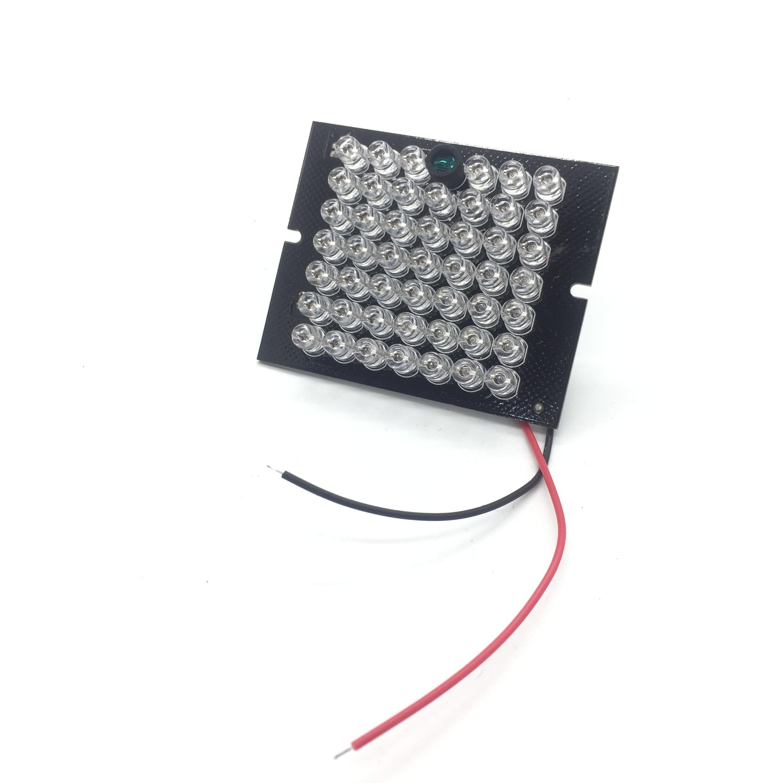 Novo iluminador invisível 940nm infravermelho 60 graus 48 luzes led ir pcb para cctv segurança 940nm ir câmera dc12v
