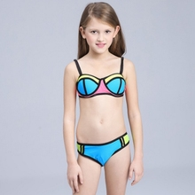 girls swimsuits Two piece 2017 brand new clothing girl kids bathing suit children's swimwear girls bathing suits on child beach