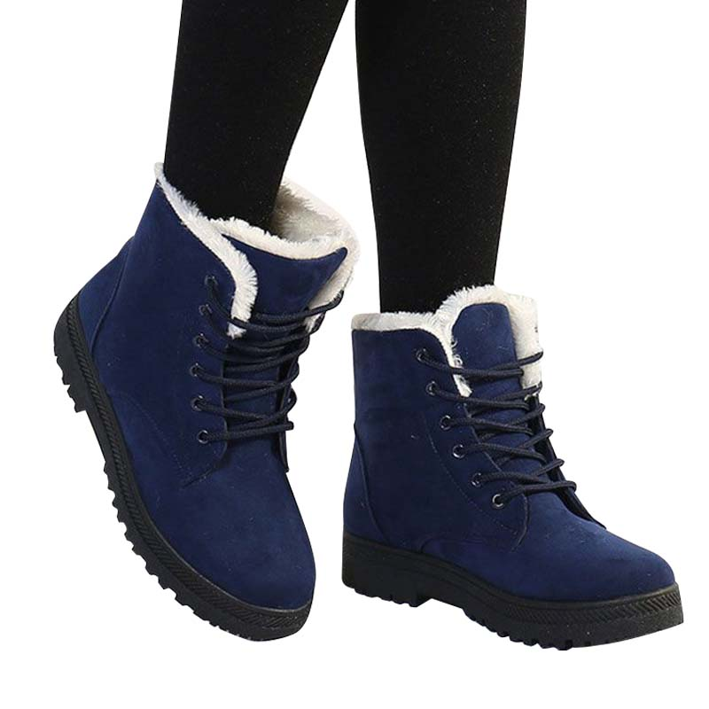 Fast delivery Fashion warm Snow Winter Non-slip Boots Women Boots heels Ankle Boots 2018 new arrival winter platform shoes women boots 2016 new arrival women winter boots warm snow boots fashion heels ankle boots for women shoes